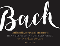 Bach font family