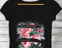 FLORAL GRAPHIC TEES