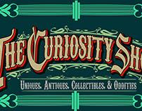 The Curiosity Shop Vintage Signage