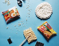 Indomie Flatlay Calvin Project