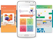 Interface app CodiGO! - TCC Design Gráfico UFPR
