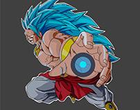 Brolly, The Legendary Super Saiyan Blue