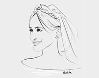 MEGHAN // portrait drawing
