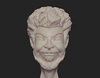 3D Self-Portrait Vuenza | Personal Artwork