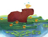Serene Capybara