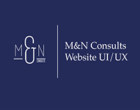 M&N Consults Website UI/UX