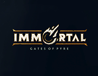 Immortal: Gates of Pyre - Brand Development & Identity