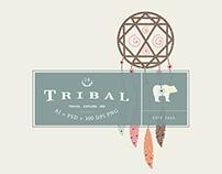 Vintage Tribal Clip Art Vectors & Logos