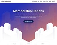 Digital Product Agency Website