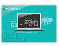 Marvelous shop Webdesign