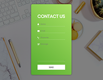 Basic Responsive Contact Form Styling