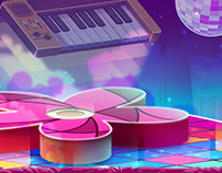 Melody Monsters -Disco Map-