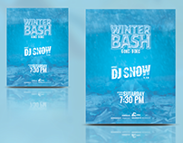 Winter Bash Flyer/Poster (Free PSD)