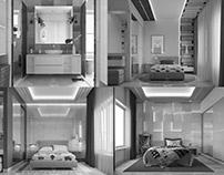 BEDROOMS &BATHROOM FOR 3 TEENAGERS