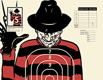 Horror movie Range Targets