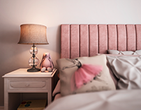 Girl's Bedroom | Quarto de menina