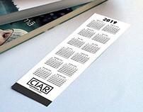 Bookmark Calendars Printing