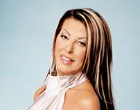 Angela Dimitriou Greek Singer Artist