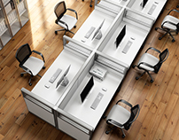 CGI | Office Furniture | Panel and Desking System