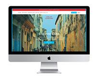 Cuba Art Adventures Website