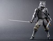 The Hound action figure - Game of Thrones