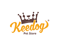 Keedog Pet Store - Logotipo/ Identidade Visual