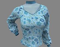 Dynamic 3D Marvelous Designer Shirt