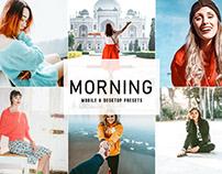 Free Morning Mobile & Desktop Lightroom Presets