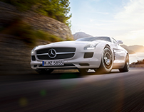 "MERCEDES SLS AMG | ""HOME"" (CGI) PART 3 OF 5"