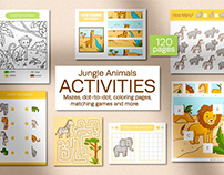 Jungle Animals Activities for kids