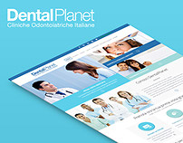 DentalPlanet - Web Design