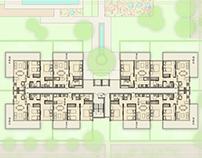 Anteproyecto - Edificio de departamentos.