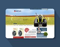 Titan Tires Website