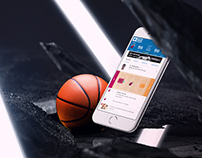 NBA Mobile Gametracker