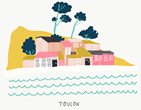 My French Road Trip - An Illustrated Documentation