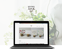 Wymażona - responsive website, shop online