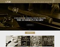 Cigar Town Web UI