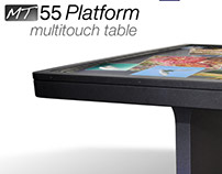 Site design for interactive multi-touch tables 2011