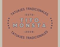 Tito Monsta Tatuajes Tradicionales