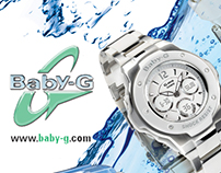 Casio Baby-G Watches Retail Ad