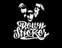 Logodesign - Downsticker