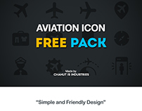 FREE! Aviation Icons by Chanut-is-Industries
