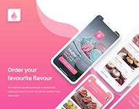 App Design for Cupcake Shop