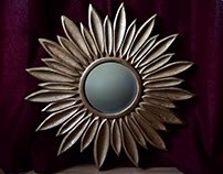 Sun Flower mirror frame
