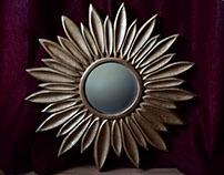 Sun Flower mirror frame