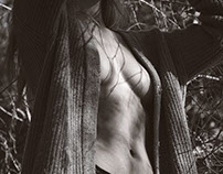 Erotismo: mujer + naturaleza +luz