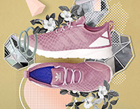 Adidas ZX Flux collage