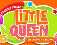 LITTLE QUEEN FUN CHILDREN TYPEFACE - FREE FONT