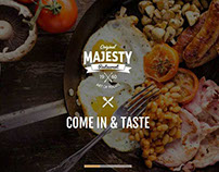 Multi-Cuisine Restaurants One Page Joomla Template