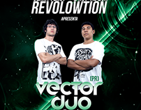 Cover Facebook and Flyer for Revolowtion